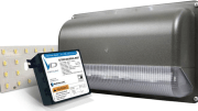 Universal Lighting Technologies' EVERLINE Wall Pack luminaire is designed for HID replacement or new construction.