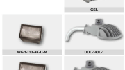 Hubbell Outdoor Lighting's GSL, LED Dusk-to-Dawn and WGH LED wallpacks.
