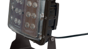 The LEDWP-600C from Larson Electronics produces a wide flood beam without the high heat, fragile construction, or high energy costs of incandescent lighting.