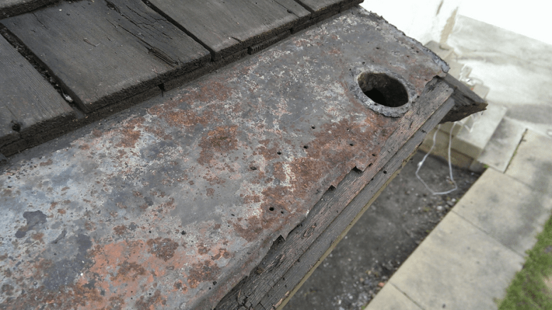 Built In Gutters Should Be Carefully Inspected Restored And Maintained Retrofit