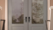 Therma-Tru has introduced a variety of decorative door glass options and door styles for 2015.