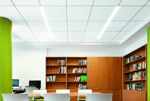 Armstrong Ceiling & Wall Systems now offers made-to-order, factory-finished ceiling panels and suspension systems.