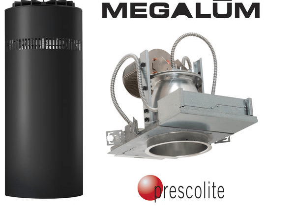 Hubbell Lighting's Prescolite now offers its MegaLum LED in lumen packages ranging up to more than 16,000 lumens.