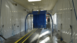 Zip-UP Ceiling is a durable, waterproof aesthetically pleasing wall and ceiling finishing system for walls and ceilings in car wash tunnels.