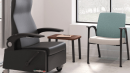The HON Co.'s Soothe collection maximizes comfort along the patient's journey to recovery, enhances functionality for the caregiver and creates the versatility required to deliver a higher level of care.