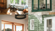 JELD-WEN's Siteline wood and clad-wood window and patio door collection combines high-performance engineering with architecturally enriched designs.