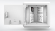 Legrand has introduced a Wiremold hinged wall box designed to provide quick and easy access to power, data and A/V connections.