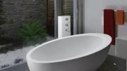 The Cáscara tub from MTI Baths.