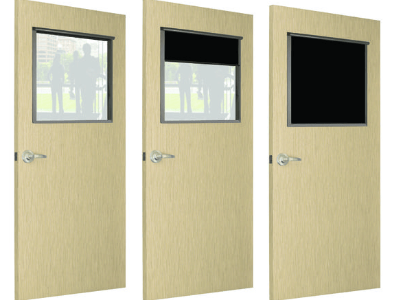 Air Louvers has introduced the Privacy Screen, a cost-effective system to add privacy to doors and windows, blocking all light and vision.