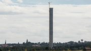 After less than 10 months of construction ThyssenKrupp and Züblin are holding the topping-out ceremony for the unique elevator test tower in Rottweil.