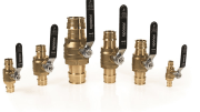 Uponor is now offering a more cost-effective ball valve option for radiant heating/cooling and hydronic piping applications.