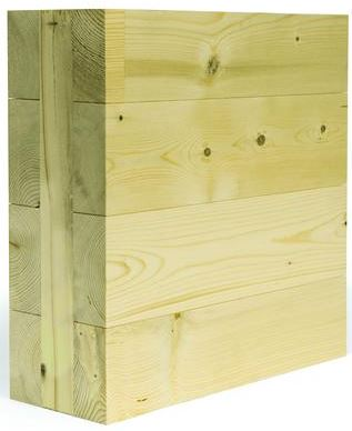 Nordic Structure's Nordic X-Lam Cross-Laminated Timber