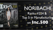 Noribachi has been named to Inc. Magazine's Inc. 500 list of Fastest-Growing Private U.S. Companies.