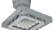 Larson Electronics has released a 100-watt explosion proof LED light fixture for ceiling mount applications.