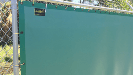 Acoustiblok Corp. introduces its Landscape Green Acoustifence.