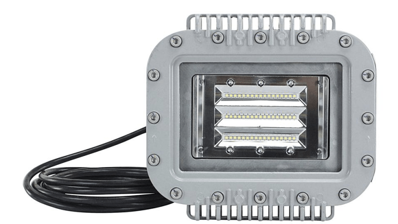 Larson Electronics' ATEX-EPL-LP-58W-LED low-profile LED light fixture