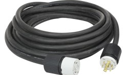 Larson Electronics releases a 75-foot extension cord with twist-lock connectors to ensure a tight connection when operating equipment in the work area.