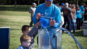 Roughly 175 Grundfos employees joined family, friends and corporate partners in its annual Walk for Water event held in Kansas City, Mo., and Aurora, Ill.