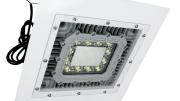 The HALD-24-1X100LED hazardous area LED light fixture from Larson Electronics.
