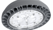 Hubbell Lighting launched a compact commercial-grade LED parking garage and canopy luminaire—the Beacon Products' Orbeon.