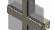 EFCO Corp.'s 5600 PG curtainwall system offers pre-glaze capability and factory fabrication/assembly options.