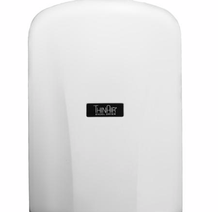 Excel Dryer Inc. has introduced the ThinAir Hand Dryer, a high-efficiency surface-mounted model that protrudes no more than 4 inches from the wall, making it ADA compliant.