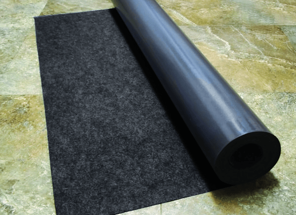 Flooring Underlayment Contains Recycled Plastic Bottles Retrofit