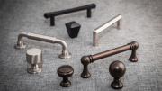 Top Knobs introduces Serene, a collection of sophisticated decorative hardware styles in six contemporary finishes.