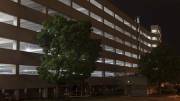 Bright White LEDs Installed in Parking Garage Provide Sense of Safety for Hospital Staff and Visitors