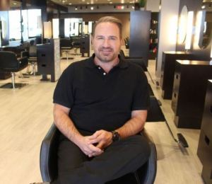 Chris Damolaris, owner of Frank Gironda Salon & Day Spa.