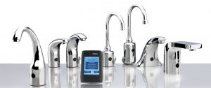 Chicago Faucets reduces the maximum flow rate of its standard HyTronic and E-Tronic 40 series electronic sensor faucets.