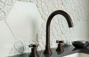 Terra Cotta Tiles Feature a Moorish-Inspired Color Palette - retrofit