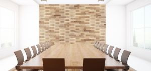 Carved Wood Panels are available in two species, white oak and torrefied poplar.