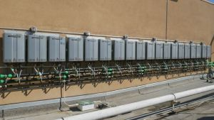 The resort relies on propane for water heating and other needs.