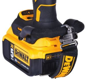 DEWALT LANYARD READY integrated solutions offer options to tether select corded and cordless tools to rigid structures on jobsites.