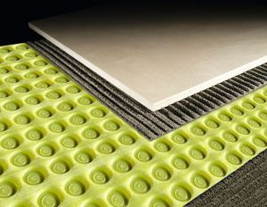 FLOORTEC is an uncoupling membrane to be installed under any tile installation.