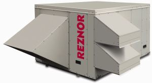 The Reznor ZQYRA Series is a dedicated outdoor air system (DOAS) for adding outdoor air requirements in light commercial spaces.