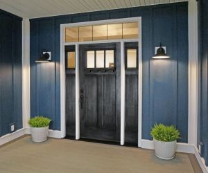 Glazed finishes are an option for people looking for an old-world type of feel.