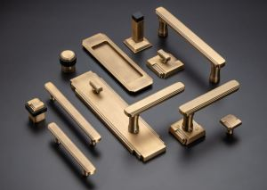 The Art Deco Series from INOX offers a collection of products to transform utilitarian door locks, card readers and other hardware