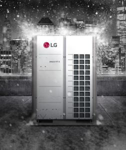 The Multi V 5 with LGRED° is a year-round VRF solution.