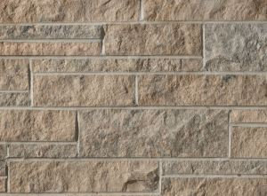 Adair Georgian Blend is a mix of Sepia and Blue-Grey Adair colors and features a split face texture.