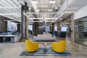 Looking to consolidate a series of small offices, Kellogg Co. creates a new office space in the Merchandise Mart building.