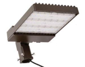 The LED Area Light Series is available in 75- to 480-watt models in 4000K and 5000K color of light.