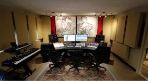 OC Recording Co. decides to replace twenty-year-old ceiling tiles with panels from Ceilume.