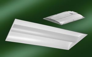 The CLT series of tunable recessed LED troffer lights are replacements for standard drop-ceiling troffer and parabolic fixtures in recessed luminaires.