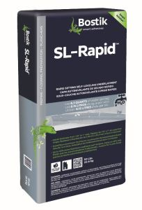 SL-Rapid is a cement-based, self-leveling underlayment.