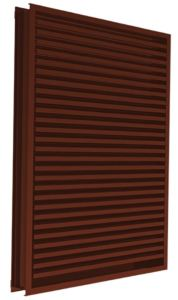 The EME420DDE and EME520DDE louvers are ideal for applications located in hurricane-prone regions.