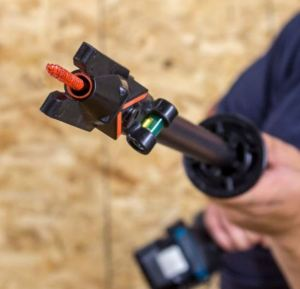 The Quik Stik fastening system is designed to reduce the risk of construction work-related injuries.