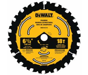 The Woodcutting Circular Saw Blades include ToughTrack technology.
