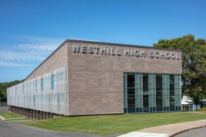 Constructed in 1962, Westhill High School, which enjoys a reputation for science education, was overdue for modernization.